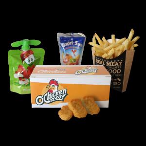 O'Chicken Tacos Menu Enfant Nuggets
